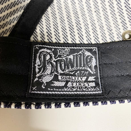 Oh!theGuilt / HAND MADE HICKOLY DENIM JET  CAP by BROWNIE HOME  MADE( ヒッコリー)