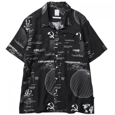LIBERAIDERS / PACE RACE SHIRT(BLACK)
