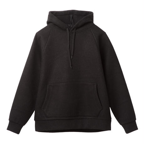 DCBA by SON OF THE CHEESE | 18 DCBA BOUCLE HOODED (BLACK)