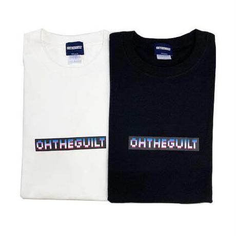 "Oh!theGuilt / ""8-bit"" LOGO L/S T-SHIRT (ホワイト)"