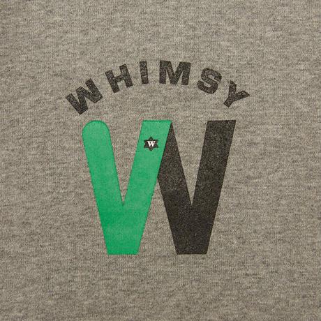 WHIMSY / METRO LOGO HOODIE (HEATHER GRAY)