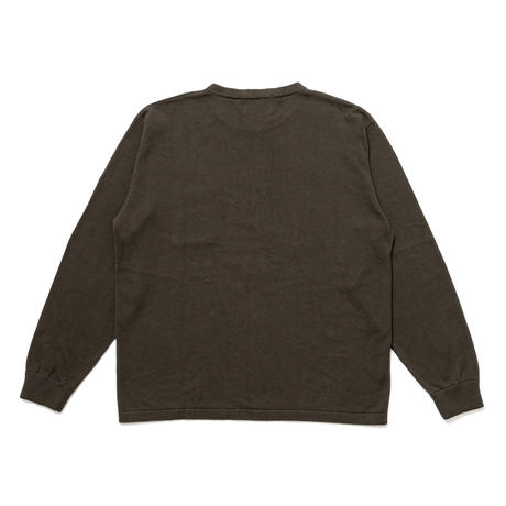 SON OF THE CHEESE | C100 long sleeve (OLIVE)