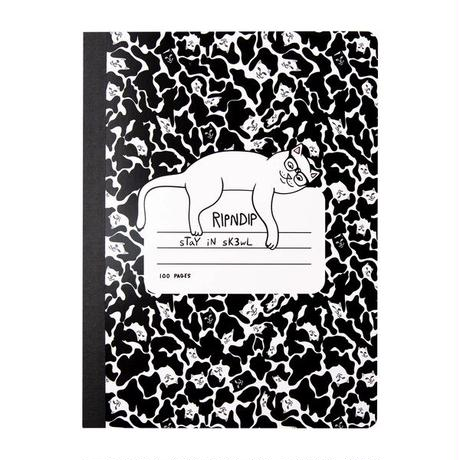 RIPNDIP | Stay In Sk3wl Composition Notebook(Black)