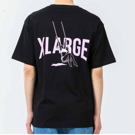 XLARGE | S/S TEE SWING (BLACK)