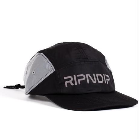 RIPNDIP | NERM FLIGHT CAMPER REFLECTIVE HAT (BLACK)