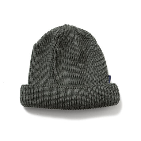 SON OF THE CHEESE | WOOL BEANIE short (GREEN)