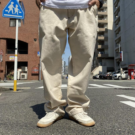 Oh!theGuilt / PAINTER PANT (OFF WHITE)