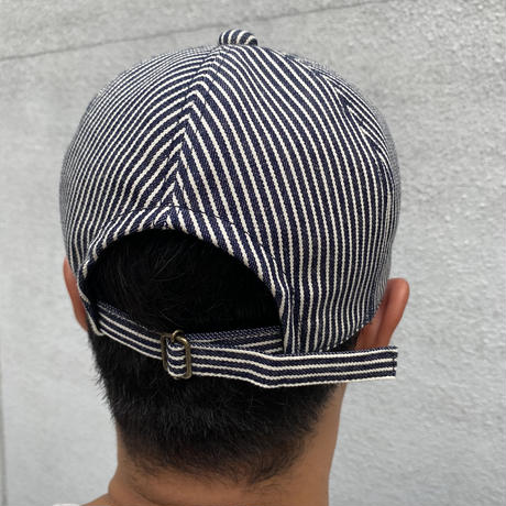 Oh!theGuilt / HAND MADE HICKORY 6P CAP by BROWNIE HOME MADE (NAVY)