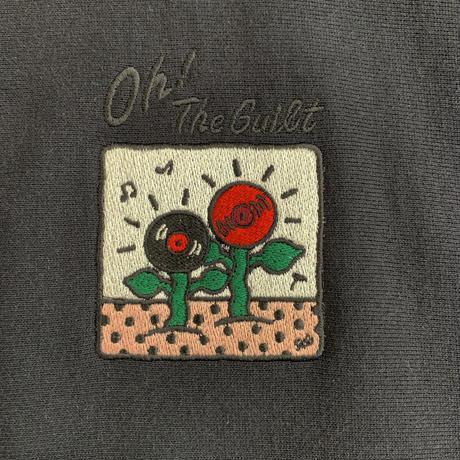 "Oh!theGuilt / 5el 006 ""MUSIC FLOWER"" HOOD  SWEAT (ブラック)"