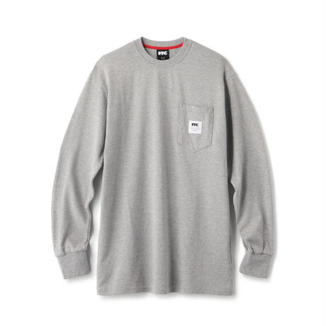 "FTC | POCKET L/S TEE ""GRAY"" (FTC020AWSH10)"