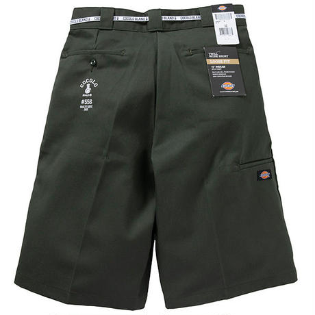 COCOLO BLAND / #556 WORK SHORTS (OLIVE GREEN)