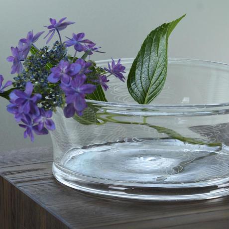 flowervase「レースガラスの大鉢」 津坂 陽介 028081-1-391C