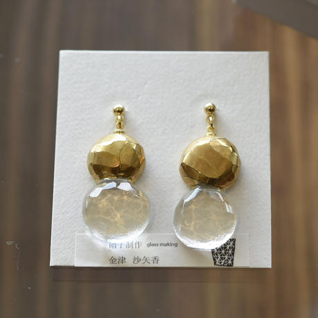 pierce 「金彩のピアス」 金津 沙矢香 028787-1395