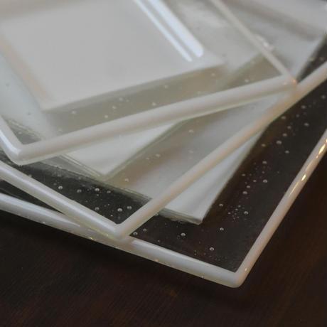 plate「泡のリム皿(大)」戸島 邦子 025902-3-308