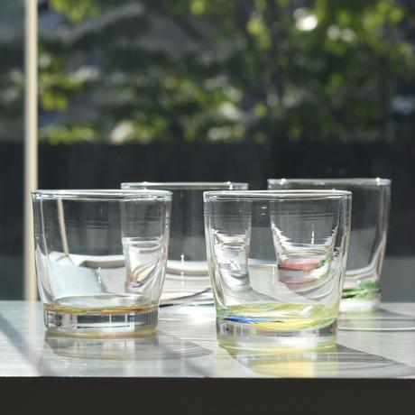 glass「ボトムモザイクロックグラス」佐野 猛 022728-4-376