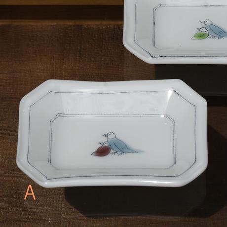plate「豆皿 トリ」戸島 邦子 024666-2-259