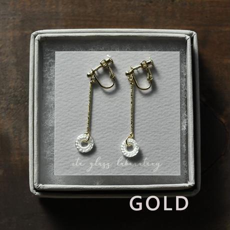 earrings「結」伊藤 真知子 031374-1-332