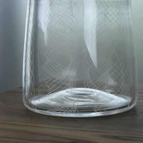 flowervase「レースガラスの花器」津坂 陽介 018314-3-391A