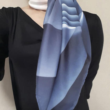others「YUKAKO KOJIMA GLASS ART DESIGN SCARF」小島 有香子