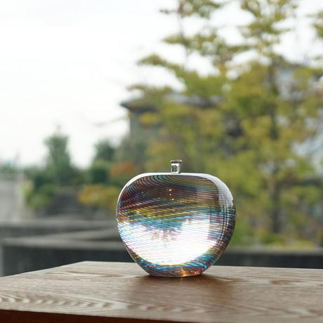 ornament「虹のりんご」津坂 陽介 015274-3-103