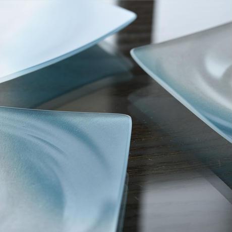 plate「四寸皿 みぎわ(越碧)」小路口 力恵 031726-1-401