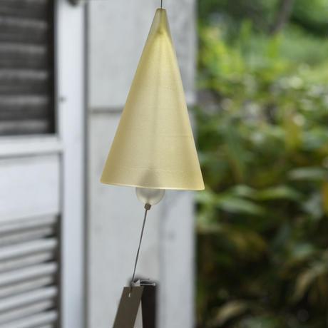 ornament「富山アイコニックーARTIST LIMITED EDITION 風鈴  Gold yellow」  031682-0