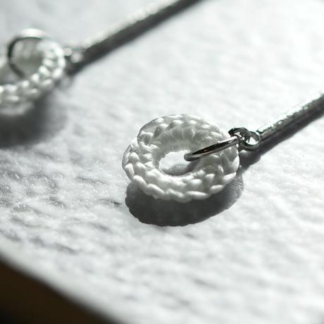 earrings「結」伊藤 真知子 031374-2-333