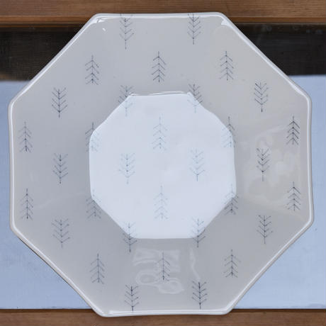 plate「八角浅鉢」戸島 邦子 027392-1-263