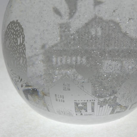 ornament「スノードーム 冬景色」金津 沙矢香 016499-5