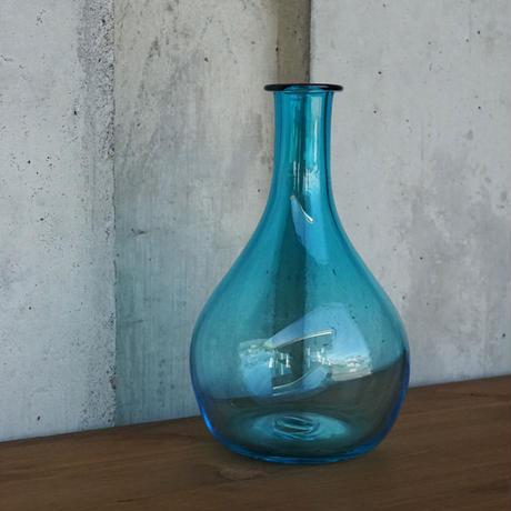 flower vase「鶴」岡田 芙紗子 029554-1-89