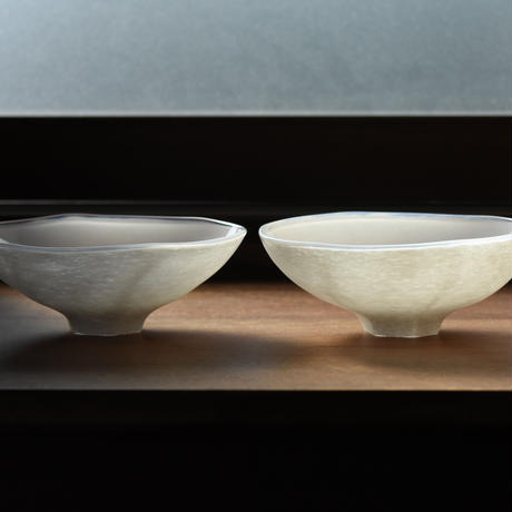 plate「白のうつわ 六角高台」小宮 崇 030321-3-422