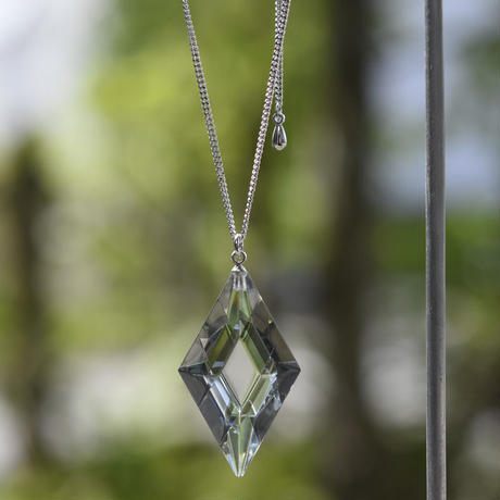 necklace「Diamond S」小島 有香子 016236-3-216