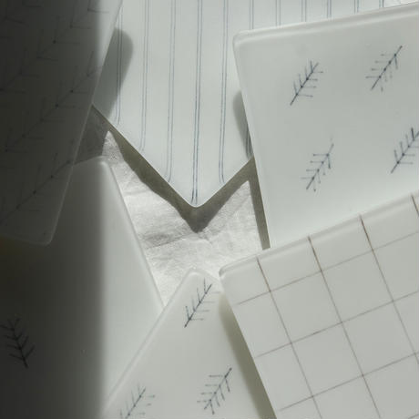 plate「角皿 (小)」戸島 邦子 024181-1-261