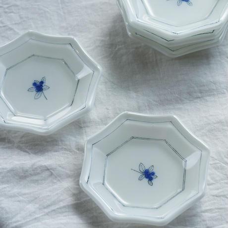 plate「色絵豆皿 ブルーベリー」戸島 邦子 024666-6-343