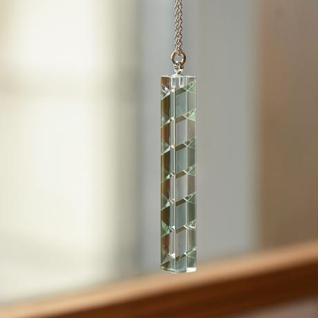 necklace「Bar Green」小島 有香子 024072-1-319