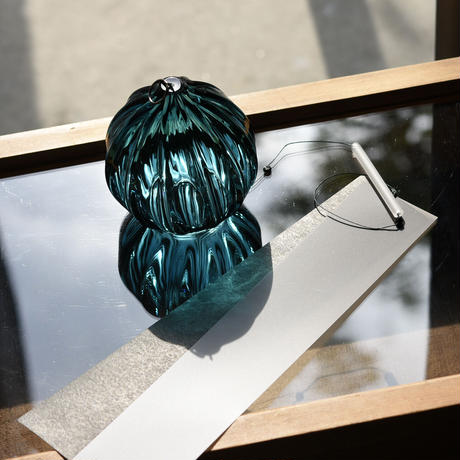 ornament「富山アイコニックーARTIST LIMITED EDITION 風鈴  コシノアオ」  031346-2