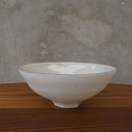 bowl「白のうつわ gray」 小宮 崇 029250-2-41