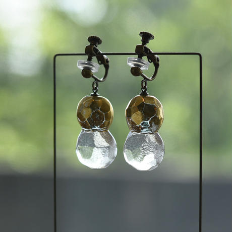 earrings「金彩のイヤリング」 金津 沙矢香 028862-2-396
