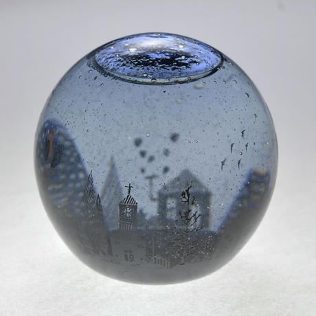 ornament「スノードーム 星ふる夜の森」金津 沙矢香 024799-4