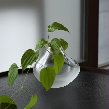 flower vase「くもい 一輪挿し」小路口 力恵 020132-3-366