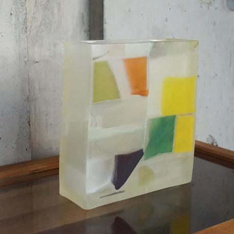 flower vase「四角花器」佐野 猛 005732-10-143
