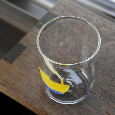 glass「黄色い船」ワタナベ サラ 028227-11-430