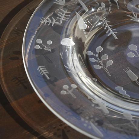 plate「Over grown」ワタナベ サラ   028130-1-278
