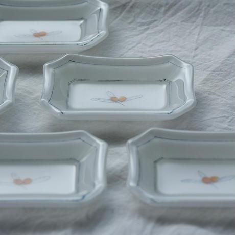plate「色絵豆皿 ビワ」戸島 邦子 024666-6-344