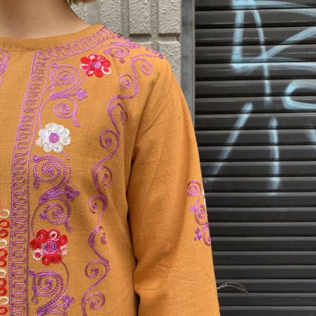 パキスタン 刺繍 ワンピース 4