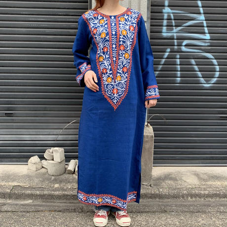 インド 刺繍 ワンピース 6