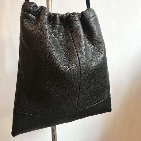 Inswirl  KINCHAKU BAG /BLACK