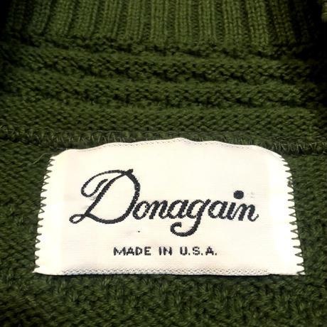 Made in USA コットンニットセーター