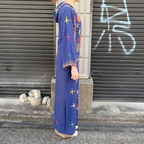 パキスタン 刺繍 フード付き ワンピース 8