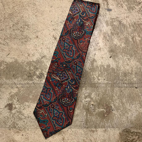 アメリカ製 ペイズリー柄 ネクタイ